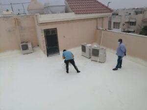عزل اسطح بجازان